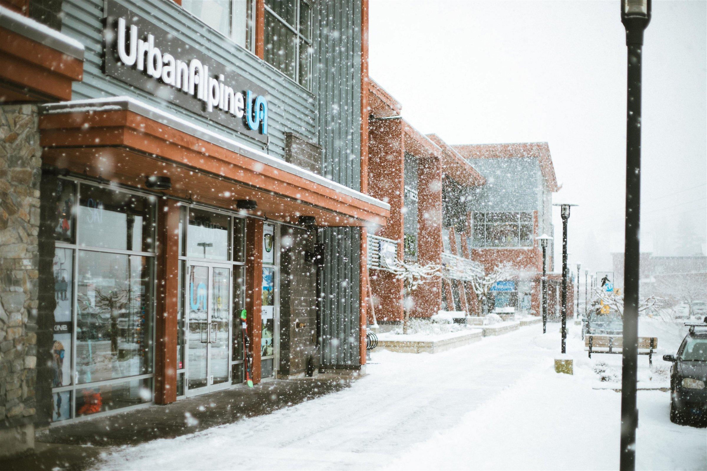 Urban Alpine Squamish Shop