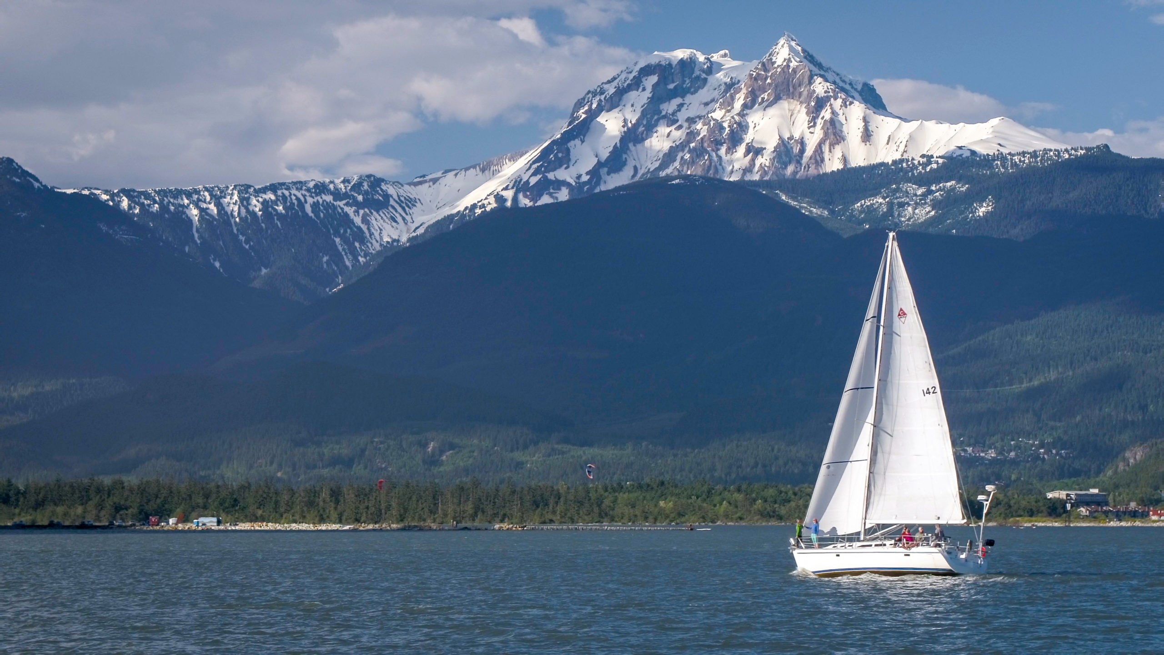 Summer Sailing in Squamish