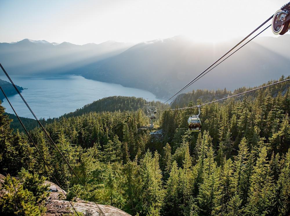 Visit the Sea to Sky Gondola this summer in Squamish.