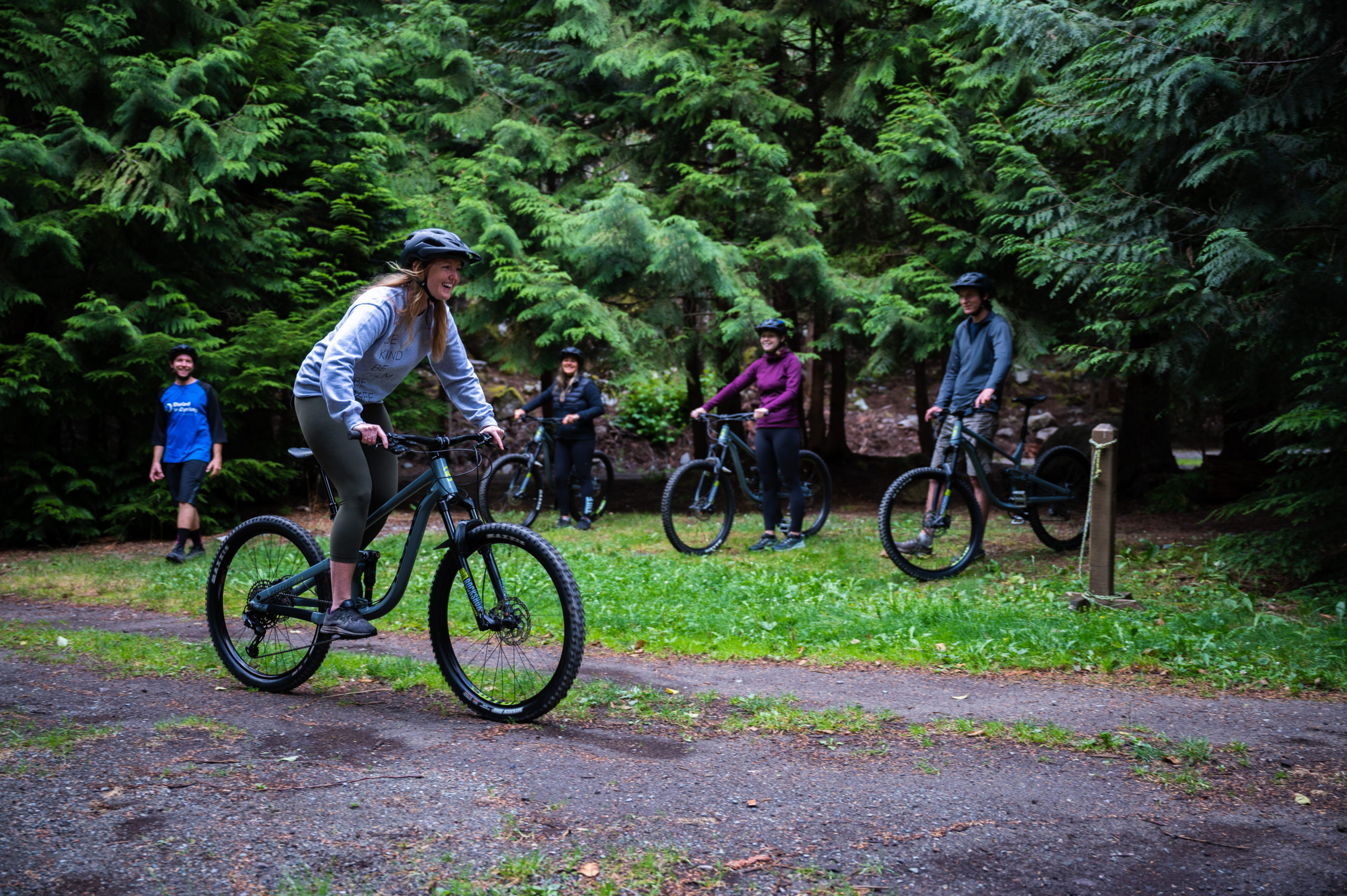 Summer Cycling in Squamish