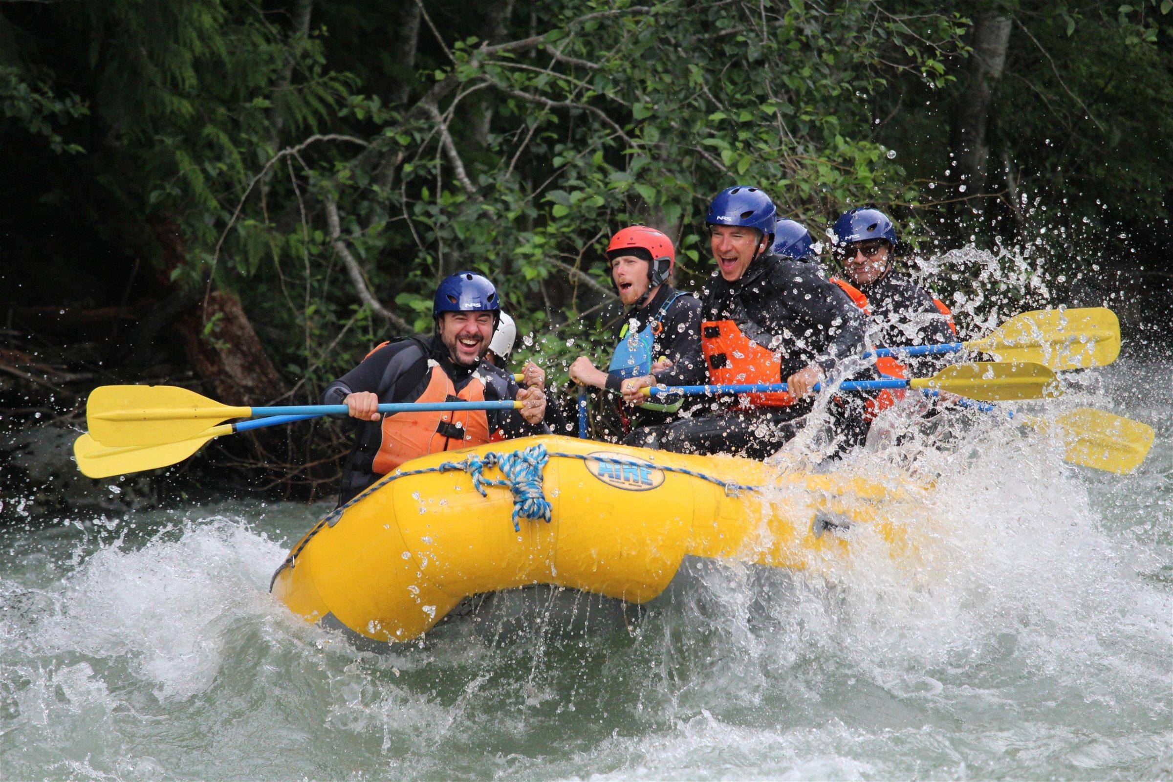Summer Rafting in Squamish